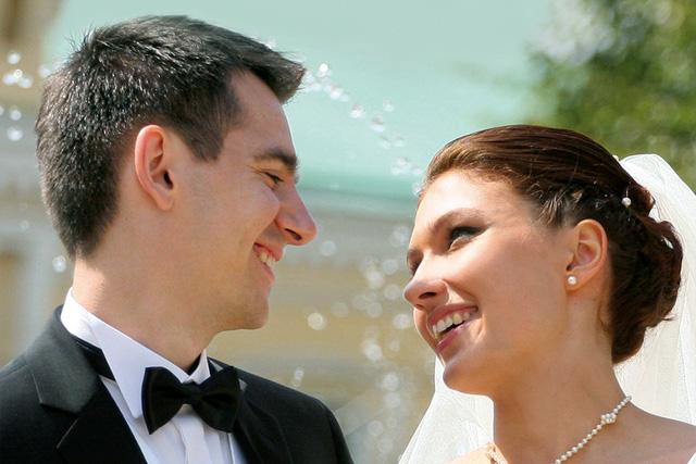 Eheschliessung im Zivilstandskreis Stadt Baden - Brautpaar