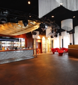 Innenansicht des Club Joy in Baden