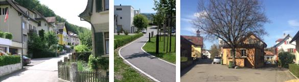 Baulinien- und Überbauungspläne Stadt Baden - Kräbelistrasse Kappelerhof, Steiacher Rütihof, Dorfstrasse und Untere Dorfstrasse Dättwil