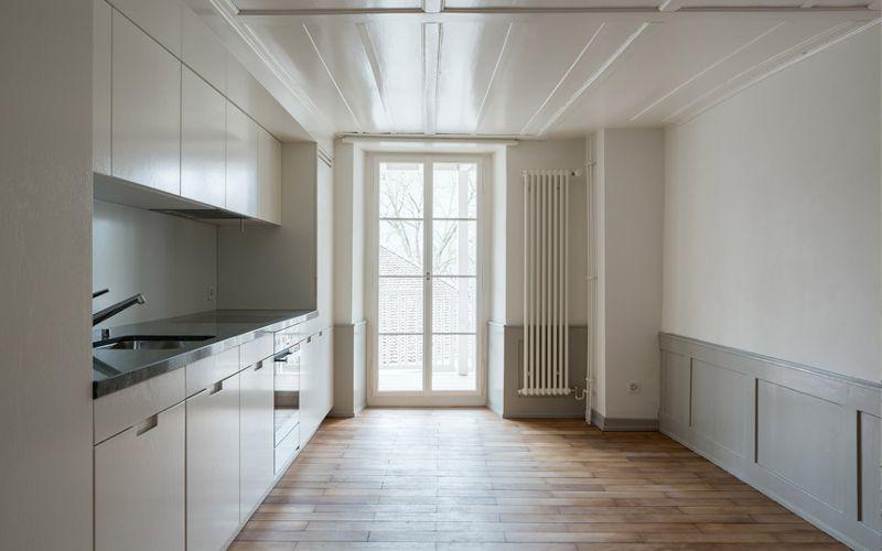 Sanierung Untere Halde 5 und 7 - Ansicht Küche