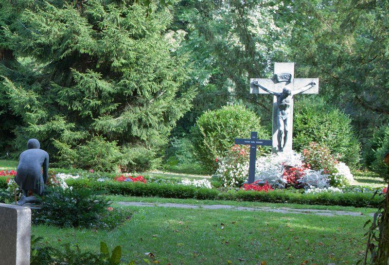 Nachlassinventar Stadt Baden - Situationsbild Friedhof Liebenfels