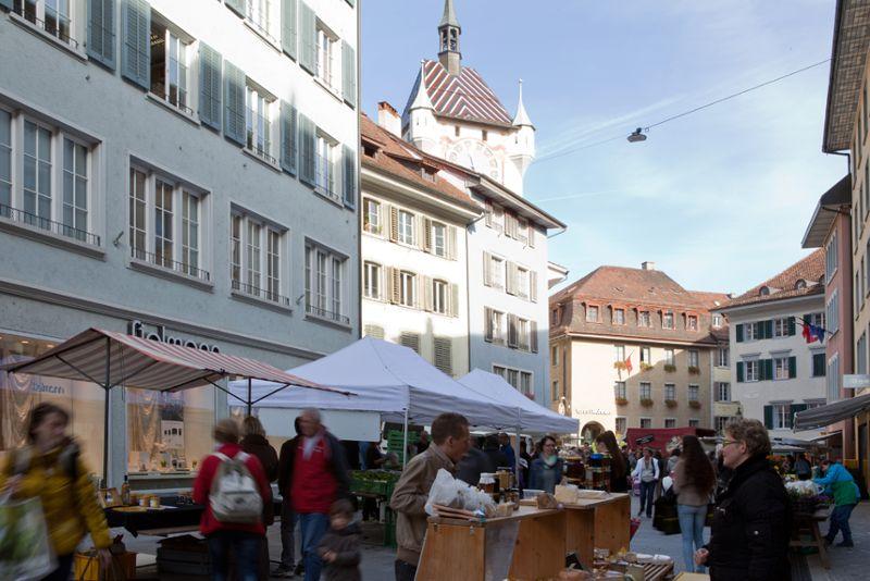 Informationen zu Finanzen und Steuern der Stadt Baden - Wochemarkt in der Weiten Gasse