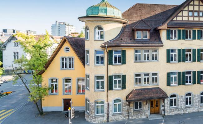 Betreibungsamt Baden, Klösterli, Mellingerstrasse 19, Stadt Baden - Ansicht Gebäude Klösterli