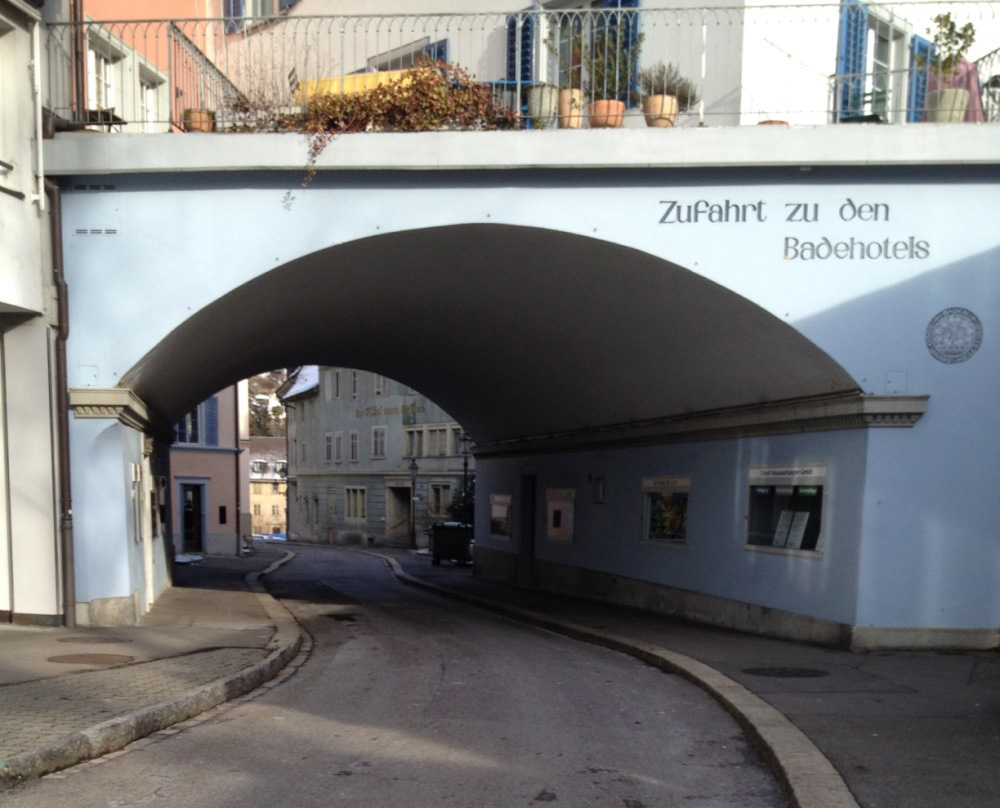 Erschliessungs- und Verkehrskonzept Römer-/Bäderquartier Baden - Zufahrtsstrasse zum Bäderquartier