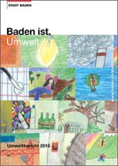 Umweltbericht Stadt Baden - Titelbild mit Kinderzeichnungen
