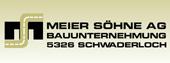 Beteiligte Unternehmung Projekt Gemeinsam die Zukunft bauen - Meier Söhne AG Schwaderloch