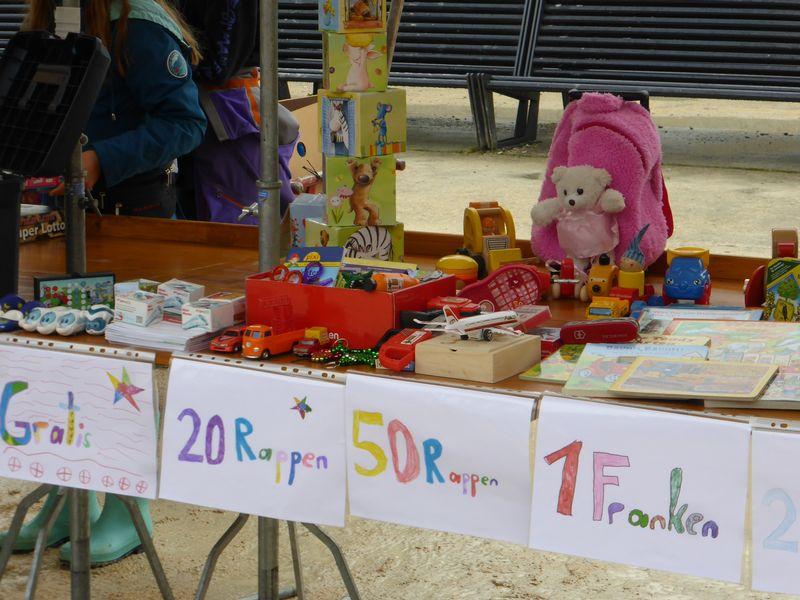 Kinderflohmarkt in Baden