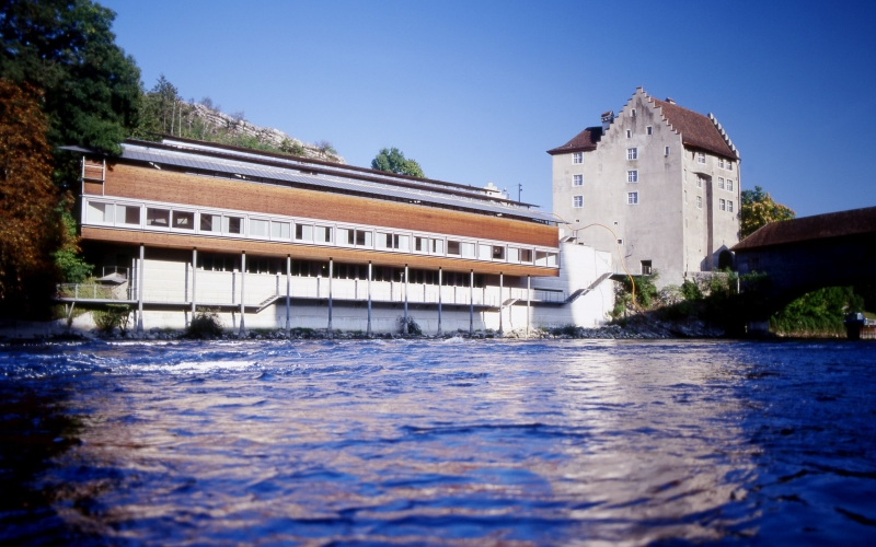 Baden Museum of History at the River Limmat