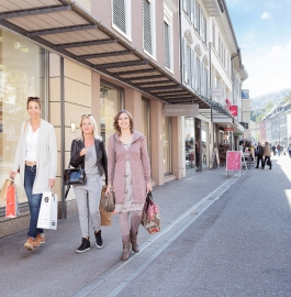 Shopping at the Badstrasse Baden