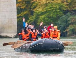 Schlauchboot-Tour Aargauer Flüsse - Rahmenprogramm Baden